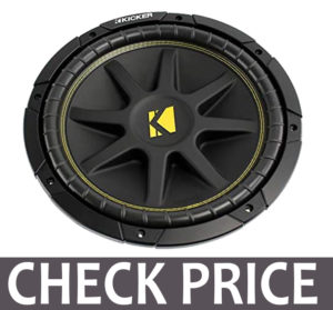Kicker 12 Inch 300W Power Car Audio Subwoofers