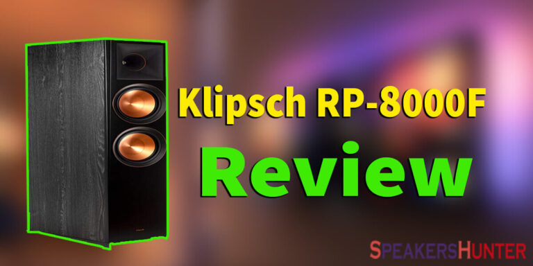Klipsch RP-8000F Review