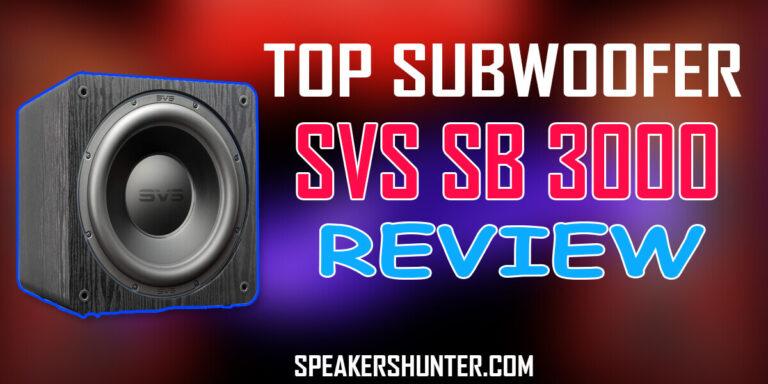 SVS SB 3000 Review
