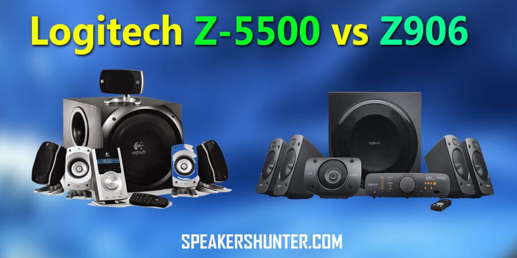 Logitech Z-5500 vs Z906