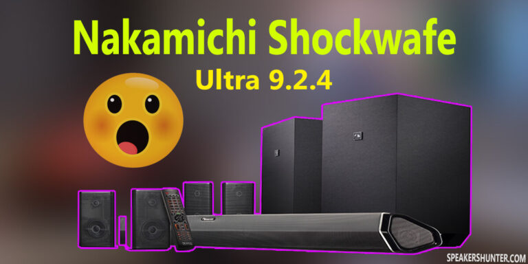 Nakamichi Shockwafe Ultra 9.2