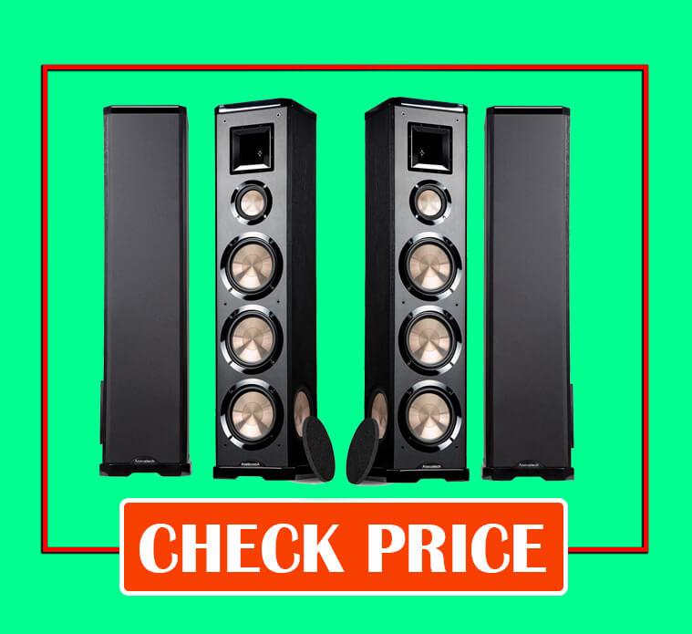 BIC Acoustech PL-980L-PL-980R 3-Way Floor Speakers
