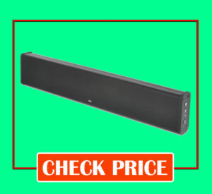 ZVOX SB380 Best Soundbar for Apartment