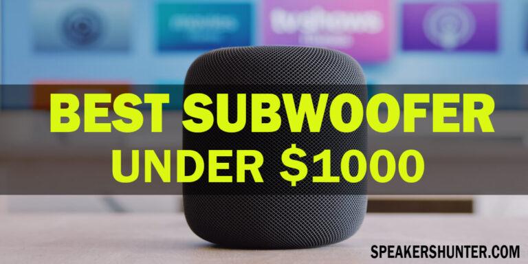 Best Subwoofers Under 1000