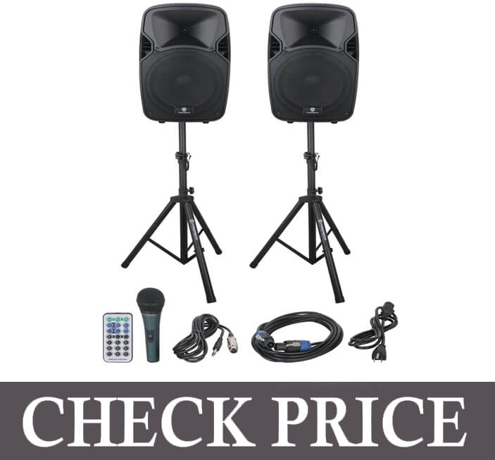 PRORECK Party Powered Speaker System
