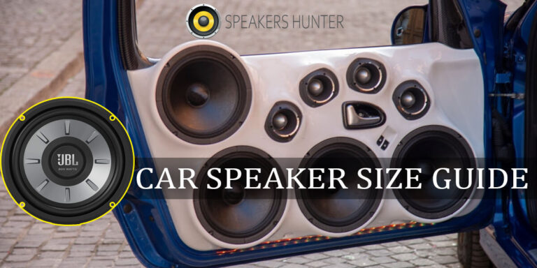 Car Speaker Sizes