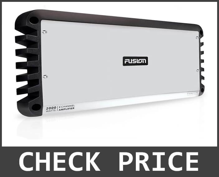 FUSION SG-DA8200 Signature Series 2000W – 8 Channel Amplifier