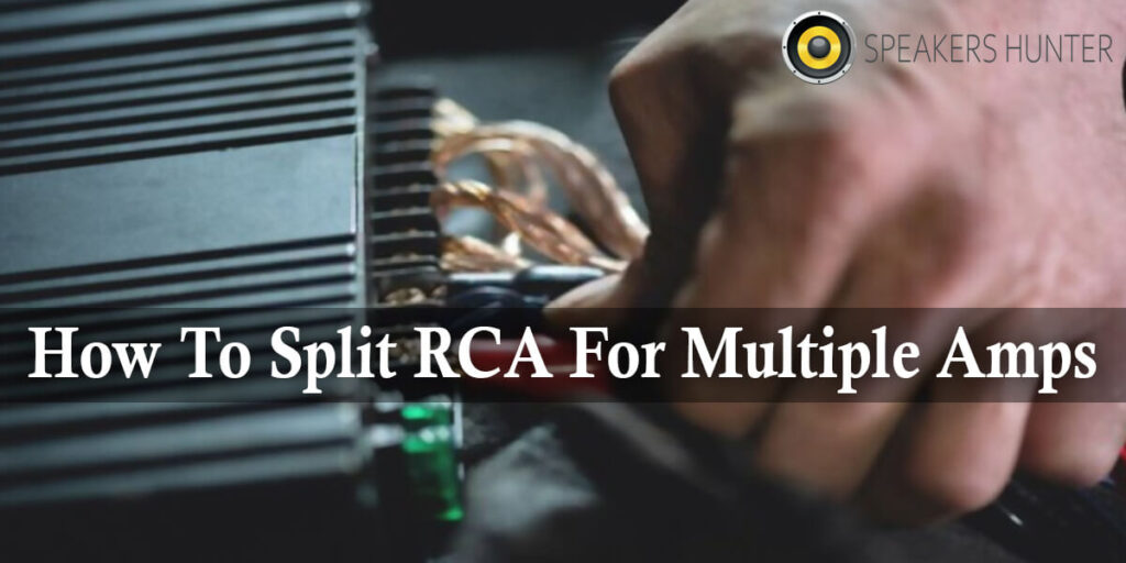 How To Split RCA For Multiple Amps