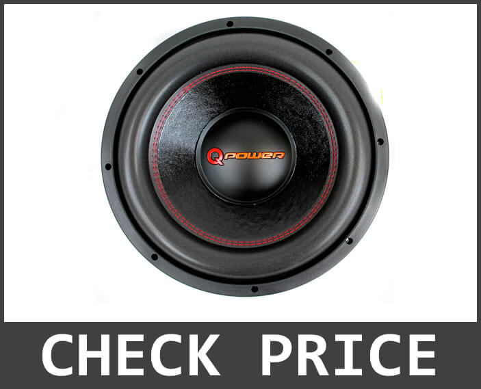 Q Power Subwoofer Best Subwoofer for the Money