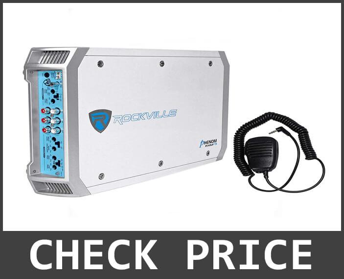 Rockville RXM-F3 1600-Watt Marine Amplifier