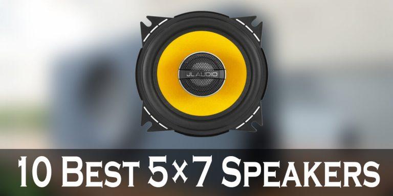 Best 5×7 Speakers