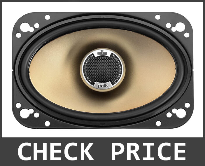 Polk Audio DB461 4-by-6-Inch Coaxial Speakers