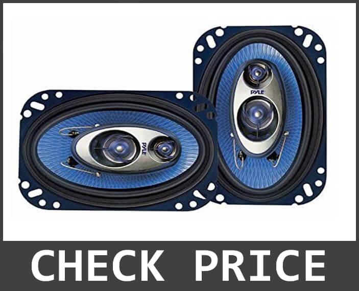 Pyle 4×6 Three Way Sound Speaker System