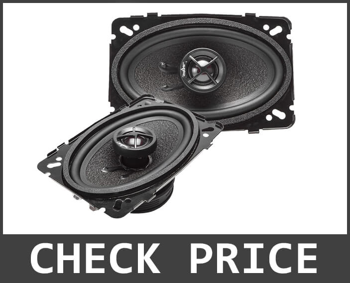 Skar Audio SK46 4×6 Coaxial Car Speakers