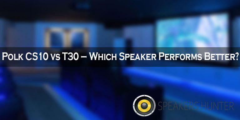 Polk CS10 vs T30