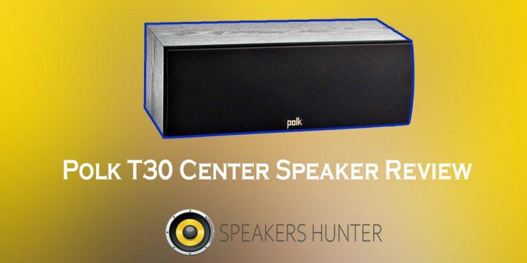 Polk T30 Center Speaker Review